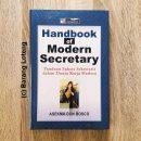 Buku Handbook of Modern Secretary Panduan Sukses Sekretaris dalam Dunia Kerja Modern Penerbit PPM