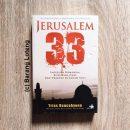 Jerusalem 33 Imperium Romanum, Kota Para Nabi,dan Tragedi Di Tanah Suci Penerbit Buku Kompas