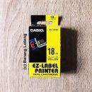 Casio Label Printer Tape 18mm